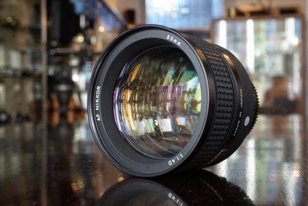 Nikon Nikkor AF 1.4 / 85mm D