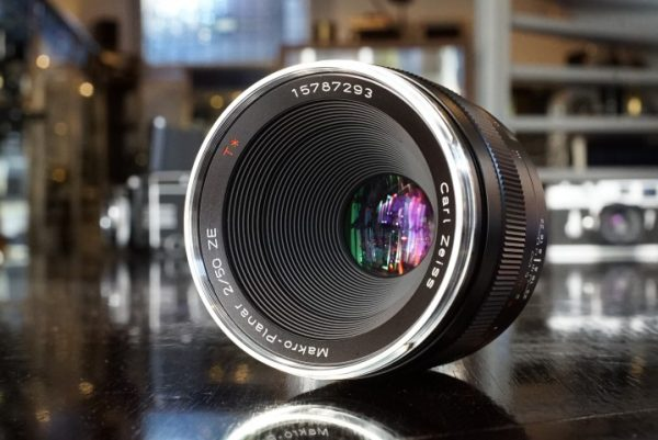 Zeiss ZE Makro-Planar 50mm f/2 for Canon EF