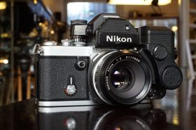 Nikon F2s body + DS-1 Aperture control unit + Nikkor 50mm f/2 NA