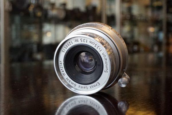 Leica Leitz Summaron f=3.5cm 1:3.5, M-mount