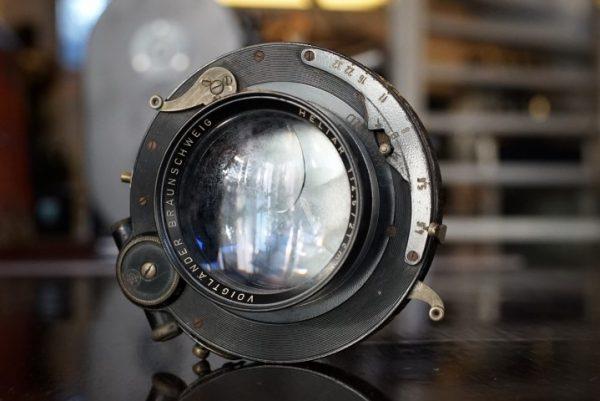 Voigtlander Heliar 210mm f/4.5 in Compound Shutter