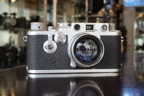 Leica IIIF red dial + Summitar 50mm f/2