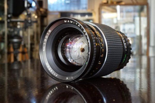 Mamiya Sekor 145mm f/4.5 C Soft Focus lens