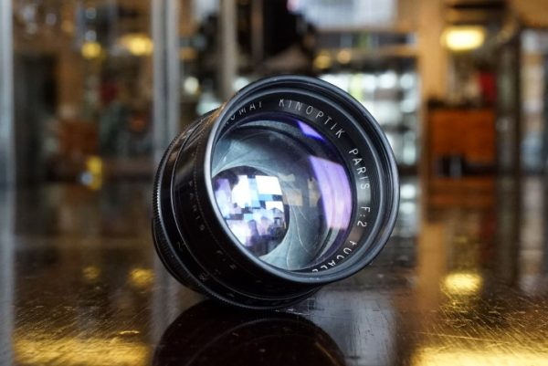 Kinoptik Paris 1:2 / 75mm Apochromat lens block