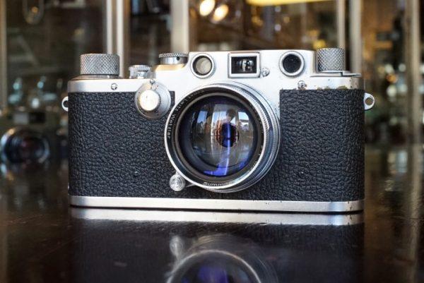 Leica IIIC + SUMMITAR 50mm f/2