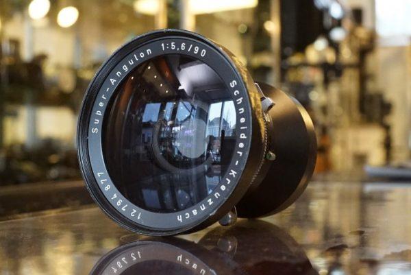 Schneider Super-Angulon 90mm f/5.6 Copal 0