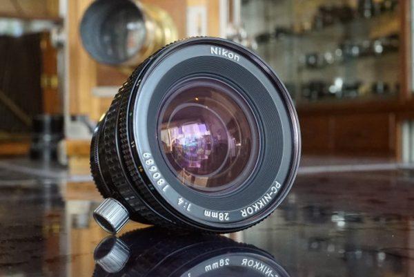 Nikon PC-Nikkor 28mm f/4