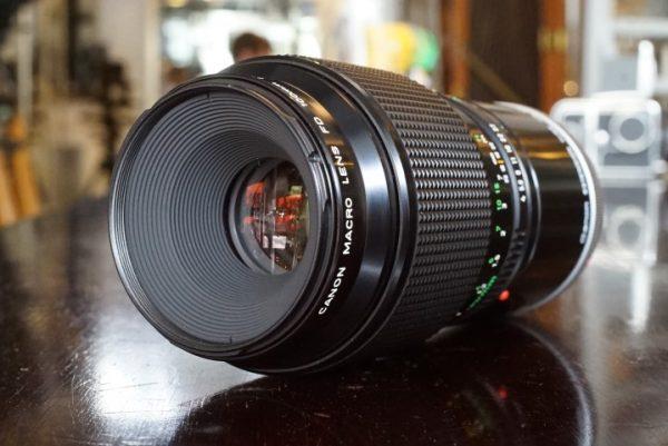 Canon FD 100mm f/4 Macro + Ext.-Tube FD-50 Boxed