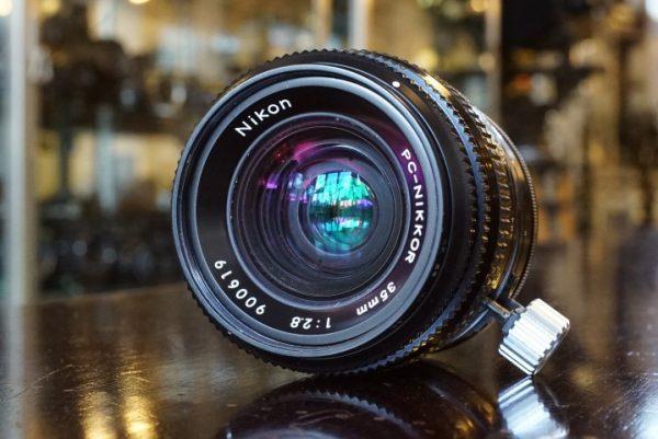 Nikon PC-Nikkor 35mm f/2.8 Boxed