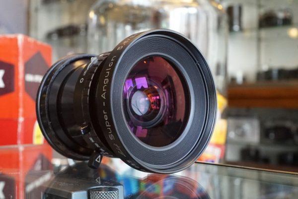 Linhof Schneider Super-Angulon 65mm f/5.6 Compur 0
