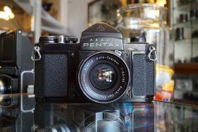 Pentax S1a Black + Auto-Takumar 35mm f/3.5
