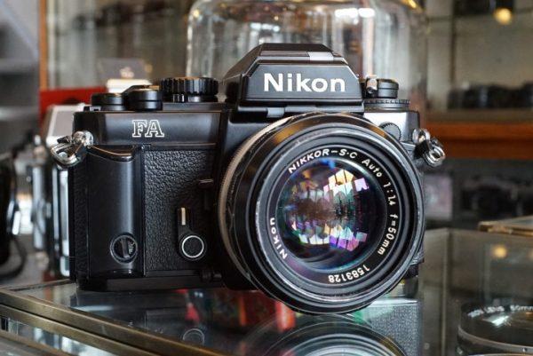 Nikon FA + Nikkor-SC 50mm f/1.4 Aid
