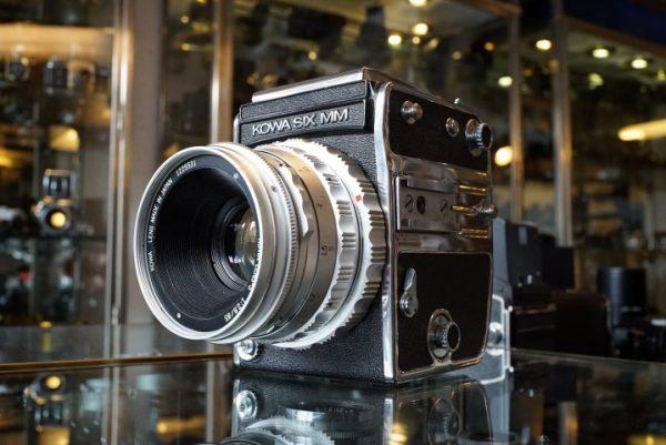 Kowa Six MM + 85mm f/2.8 S