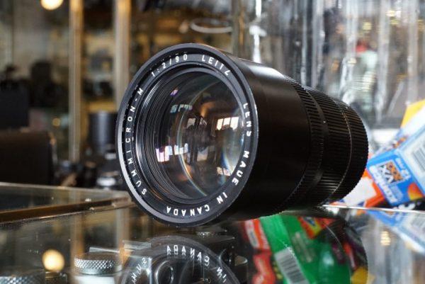Leica Leitz Summicron-M 2 / 90mm, BOXED