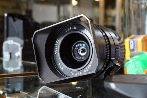 Leica Elmar-M 3.8 / 24 ASPH e46, BOXED