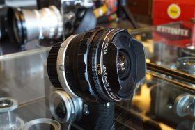 Minolta MC Rokkor Fish-Eye 16mm f/2.8