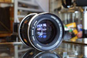 Canon lens FL 2.5 / 35mm