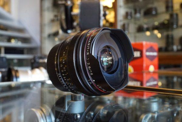Leica Leitz Fisheye-Elmarit-R 2.8 / 16mm 3-cam