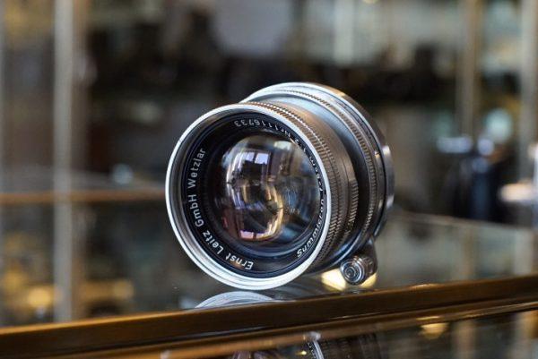 Leica Summicron 5cm f/2 LTM Collapsible