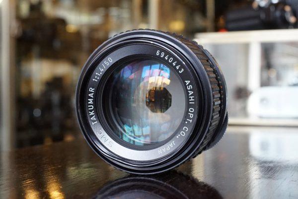 Pentax SMC Takumar 50mm f/1.4 M42