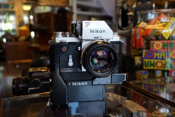 Nikon F Photomic FTN + F36 Motor + Nikkor 1.4/50 NAI