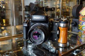 Pentax 67 II + AE Prism + SMC 67 Takumar 90mm f/2.8