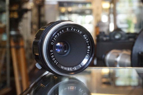 Olympus E.Zuiko Auto-Macro 38mm f/3.5 for Pen F