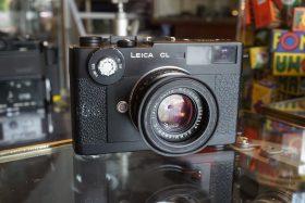 Leica CL + Summicron C 40mm f/2