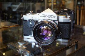 Konica / Revue Auto-Reflex + 57mm f/1.4