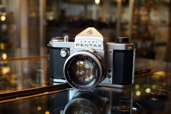 Pentax K + Auto-Takumar 1.8 / 55mm