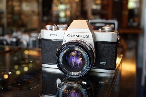 Olympus FTL + F.Zuiko 50mm f/1.8