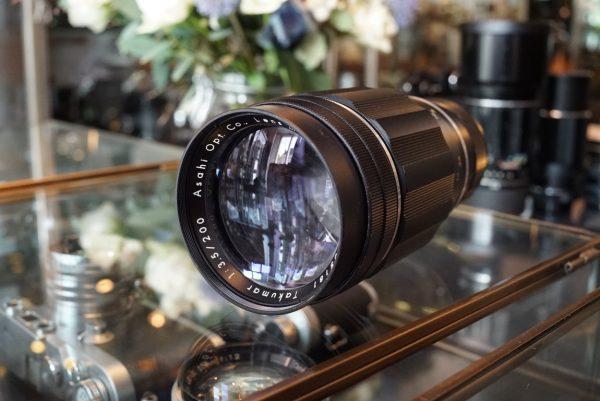 Pentax Takumar 200mm f/3.5 M42 Preset