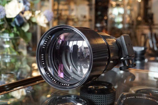 Pentax Super-Takumar 300mm f/4 M42