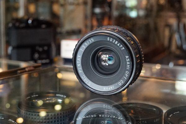 SMC Pentax 35mm f/3.5 K