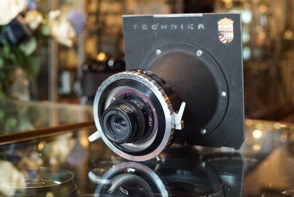 Carl Zeiss 40mm f/4.5 Luminar on Linhof plate