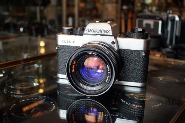 Rollei SL35E + Planar 50mm f/1.8 HFT