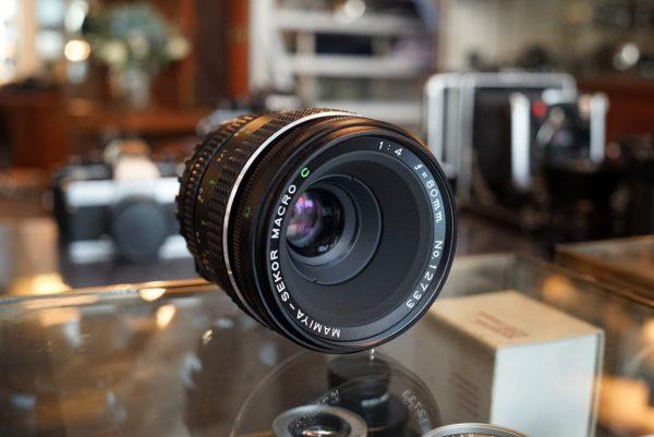 Mamiya 645 Sekor 80mm f/4 C Macro