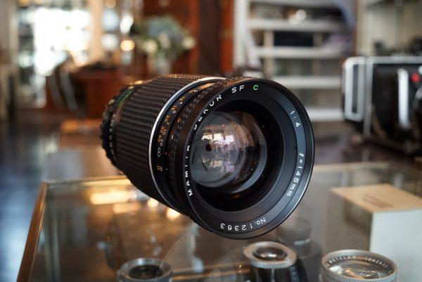 Mamiya 645 Sekor 145mm f/4 C SF