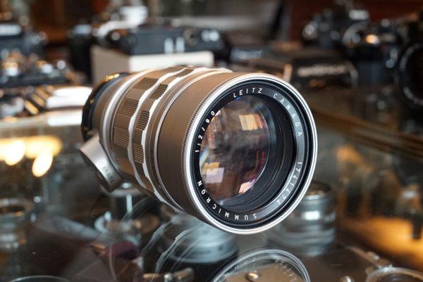 Leica Leitz Summicron 90mm f/2 M