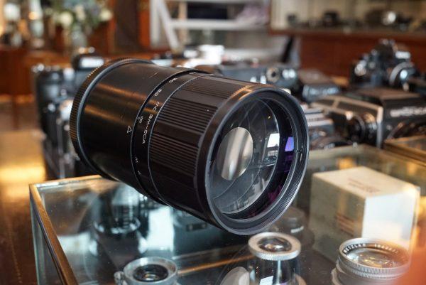 MTO MC 3M-5CA 500mm f/8 Mirror lens M42