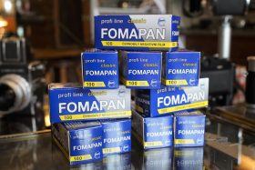 10-pack Foma Fomapan 100 classic 120 film