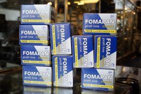 10x Foma Fomapan 100 Classic 135 / 36 film
