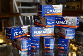 10-pack Foma Fomapan 200 Creative 120 film