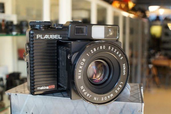 Plaubel Makina 670 w/ 2.8 / 80mm Nikkor