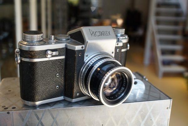 Rectaflex with Angenieux S1 1.8 / 50mm black version
