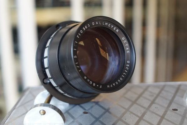 Dallmeyer Octac 1.5 / 80mm