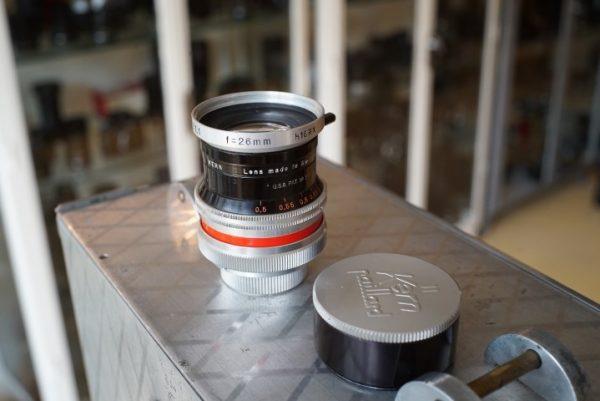 Kern Macro-Switar 1:1.1 / 26mm