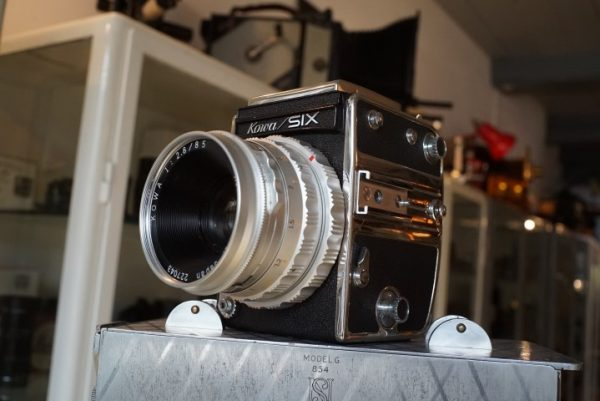 Kowa Six + Kowa 2.8 / 85mm lens