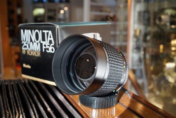 Minolta MD Rokkor 5,6/250mm, Boxed