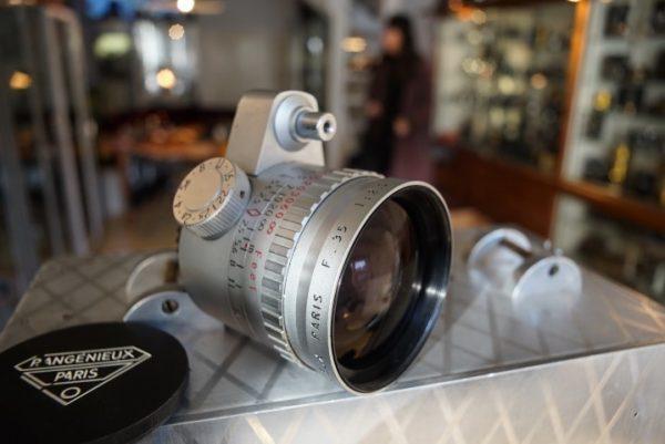 Angenieux 2.5 / 35mm Retrofocus Type R1, Exa mount